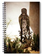 Garden Saint Spiral Notebook