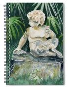 Garden Satyr Spiral Notebook
