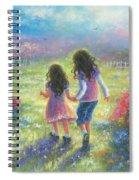 Garden Sisters Spiral Notebook