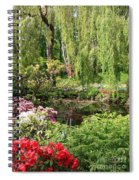 Garden Splendor Spiral Notebook