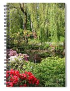 Garden Splendor Spiral Notebook