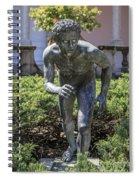 Garden Statue Ringling Museum  Spiral Notebook
