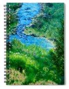 Garden Stream Spiral Notebook