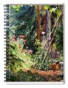 Garden View Window Spiral Notebook