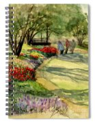 Garden Walk Spiral Notebook