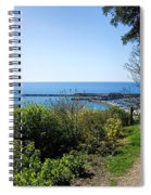 Gardens Overview - Lyme Regis Spiral Notebook