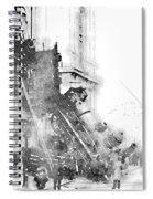 Gare Montparnasse 1895 Spiral Notebook