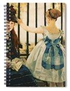 Gare St Lazare Spiral Notebook
