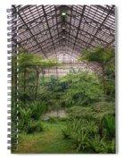 Garfield Park Conservatory Main Pond Spiral Notebook