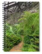 Garfield Park Conservatory Path Chicago Spiral Notebook