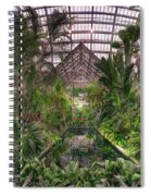 Garfield Park Conservatory Reflecting Pool Spiral Notebook