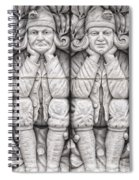 Gargoyles Of Lund Spiral Notebook