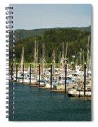 Garibaldi Oregon Marina Spiral Notebook