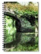 Garlanded Arch Spiral Notebook
