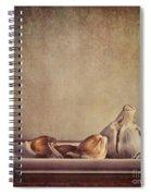 Garlic Cloves Spiral Notebook