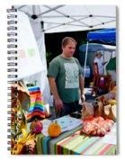 Garlic Festival Vendors Spiral Notebook