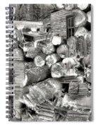 Garnet Montana Spiral Notebook