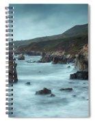 Garrapata Beach, Big Sur, California Spiral Notebook