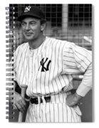 Gary Cooper As Lou Gehrig In Pride Of The Yankees 1942 Spiral Notebook