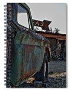 Gas And Truck Spiral Notebook