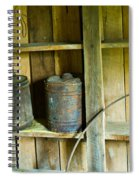 Gas Cans Long Forgotten Spiral Notebook