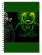 Gas Mask Spiral Notebook