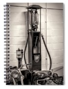 Gas Pump Bp Spiral Notebook