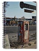 Gas Station Spiral Notebook