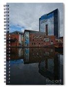 Gas Street Basin Birmingham Spiral Notebook