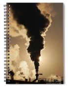 Gaseous Air Pollution Spiral Notebook
