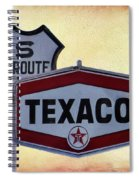 Gasoline Signs Spiral Notebook