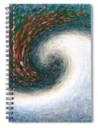 Gastronomic Tornado Spiral Notebook