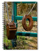 Gate Anchors Spiral Notebook