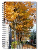 Gate And Driveway 1 Spiral Notebook