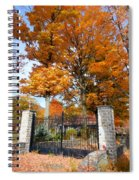 Gate And Driveway Spiral Notebook