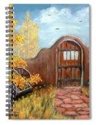 Gate By The San Juan Spiral Notebook