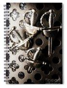Gate Keeping The Knights Templar Spiral Notebook