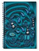 Gate To Atlantis Spiral Notebook