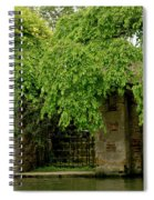 Gate To Cam Waters. Spiral Notebook