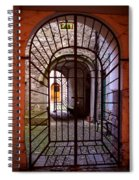 Gated Passage Spiral Notebook