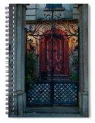 Gates Of Charleston Sc Spiral Notebook