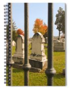 Gates Of Heaven Spiral Notebook