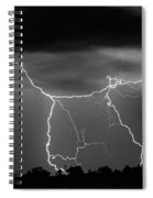 Gates To Heaven  Black And White Spiral Notebook