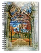 Gates To Knowledge Princeton University Spiral Notebook