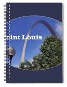 Gateway Arch - Saint Louis - Transparent Spiral Notebook