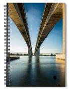 Gateway Bridge Brisbane Colour Spiral Notebook