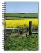 Gateway To Golden Fields Spiral Notebook