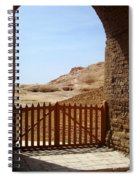 Gateway To Monthemhat Tomb Spiral Notebook