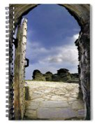 Gateway To The Castle  Spiral Notebook