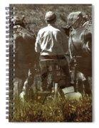 Gathering Dusk Spiral Notebook